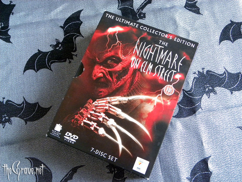 The Nightmare On Elm Street. The ultimate collectors edition DVD box set.