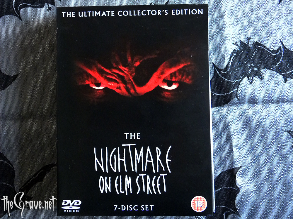 A Nightmare On Elm Street DVD collectors edition front