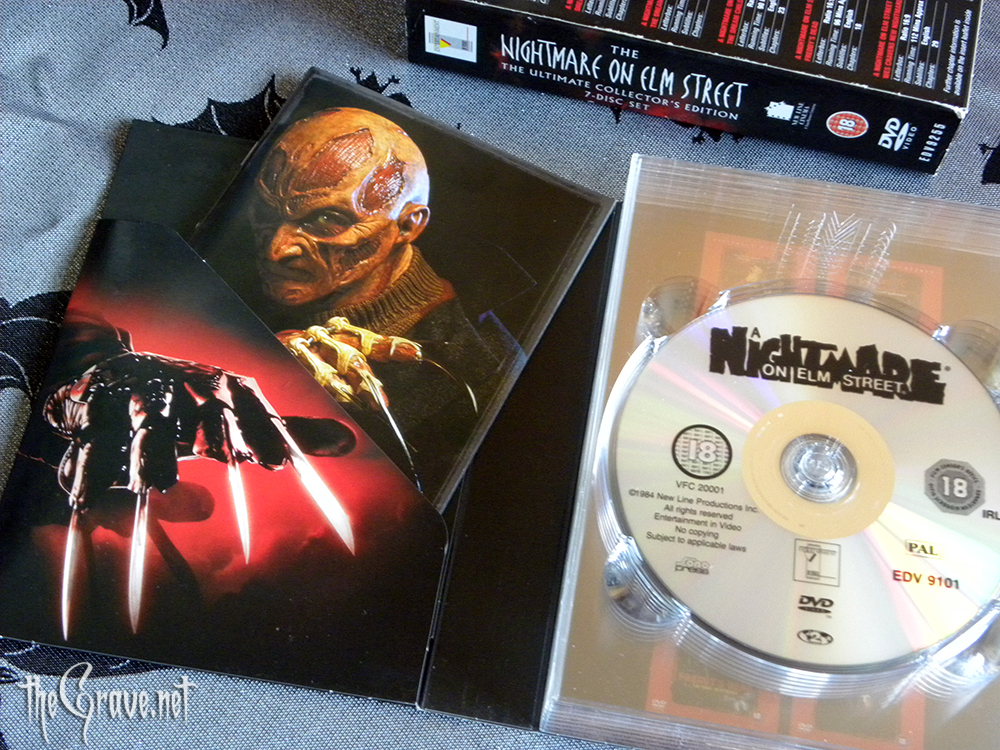 A Nightmare On Elm Street DVD collectors edition booklet